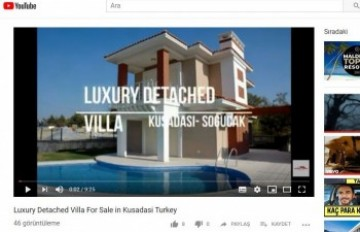 Luxury Detached Villa for Sale in Sogucak,Video has been uploaded