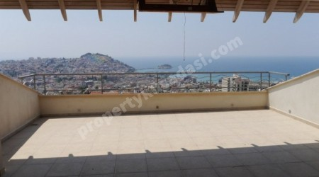 Full Sea View Penthouse in Kusadasi Center
