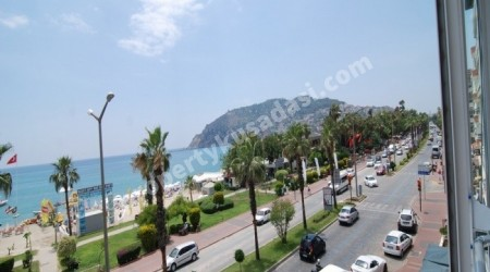 Full Sea View Apartment in Alanya Town Center
