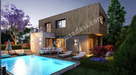 Brand New Detached Villas with Private Pool in Ladies Beach Kusadasi