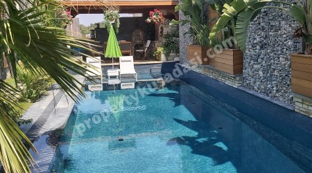 Very Private Detached Villa with Sea View Private Pool in Kusadasi