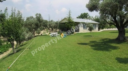 Very Private Farm House with Private Pool with 9.000m2 Land