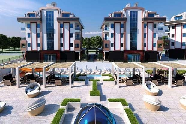 Luxury 3 Bedroomed Apartment in Alanya Oba