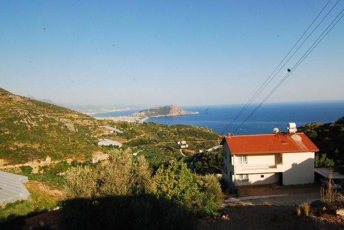 Full Seaview Villa in Alanya Dinek